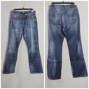 Lucky Brand Easy Rider Mid Rise Boot Cut Jeans Sz4